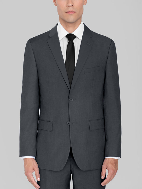 Charcoal Grey Two Button Suit