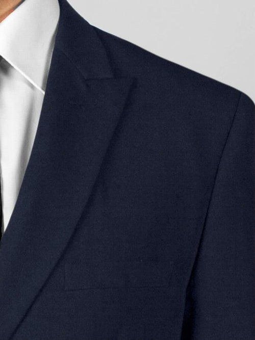 Navy Blue Double Breasted Suit