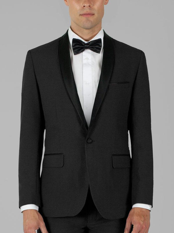 BLACK TUXEDO WITH SHAWL LAPEL TR