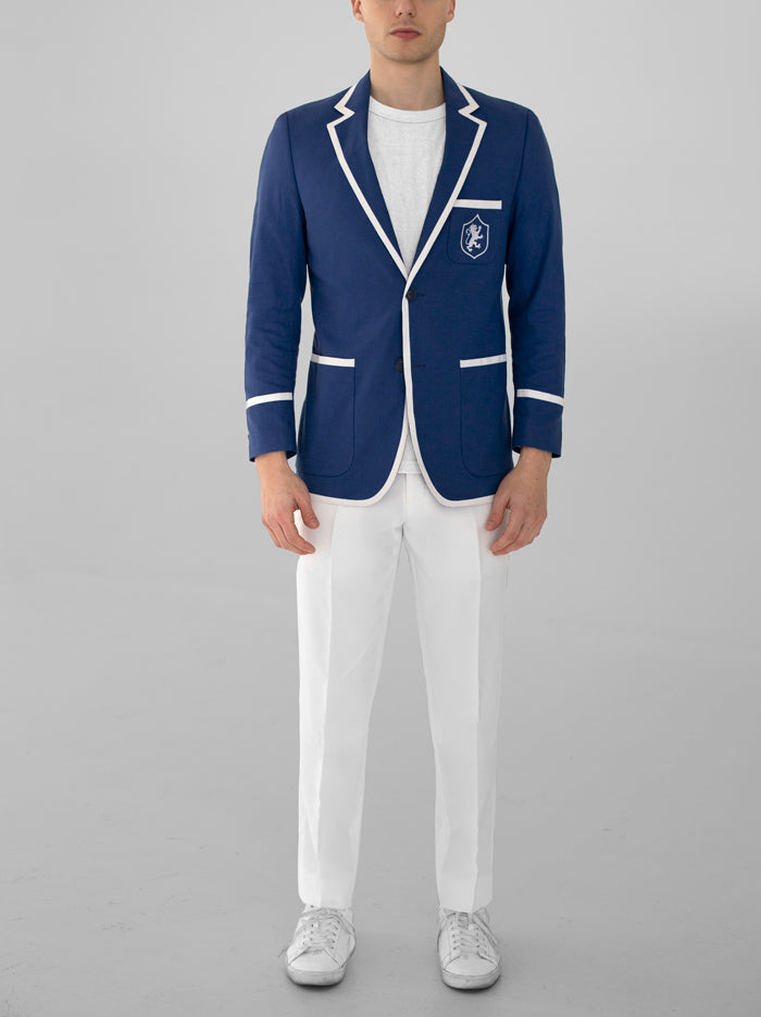 BLUE ROWING JACKET