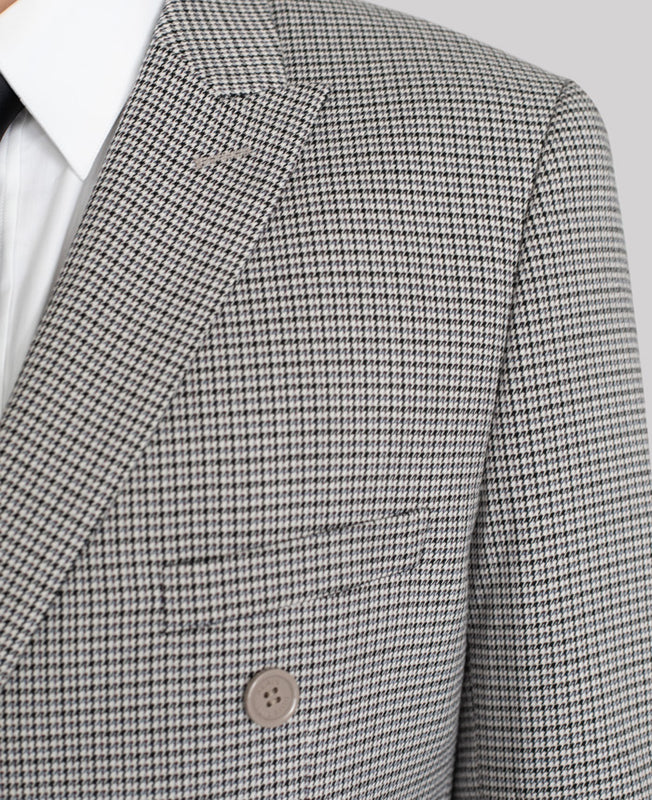 HOUNDSTOOTH DOUBLE BREASTED SUIT