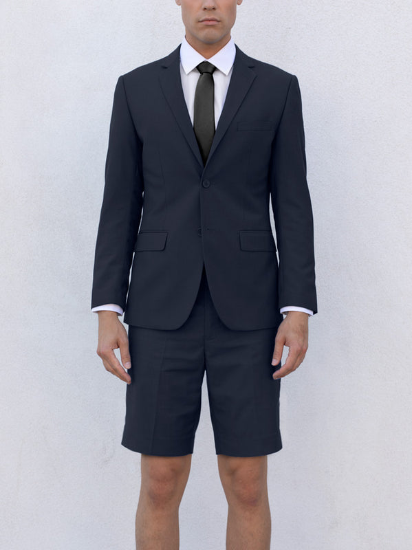 NAVY BLUE SHORT SUIT
