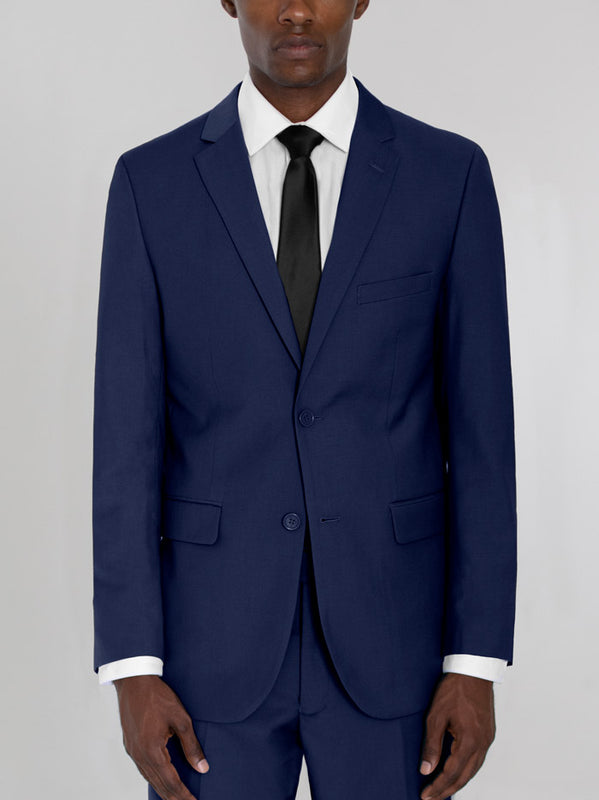 ROYAL BLUE TWO BUTTON TR SUIT
