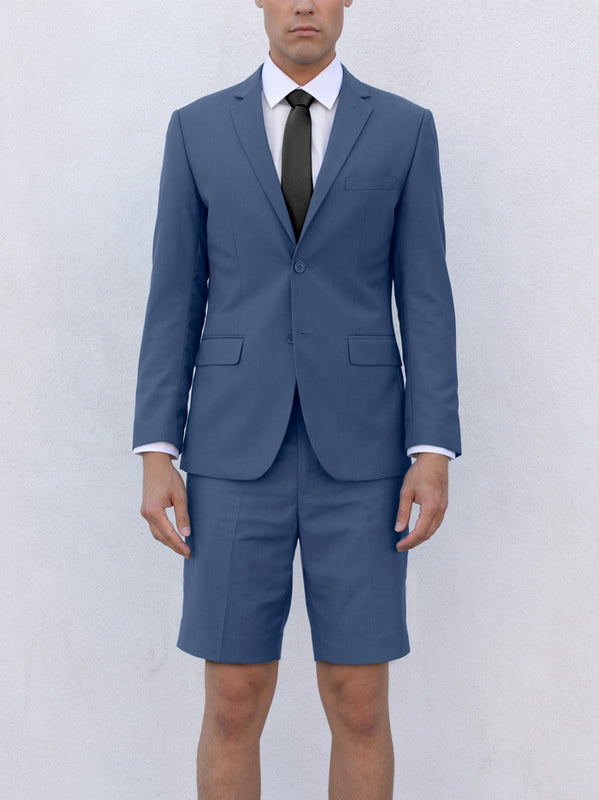 Slate Blue Short Suit