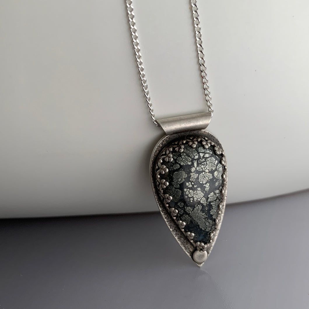 marcasite pendant set in sterling silver