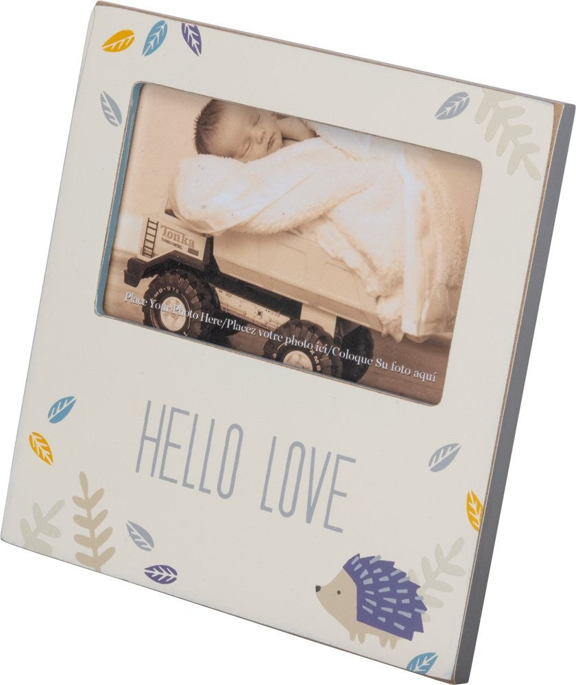 Hello Love - Plaque Frame
