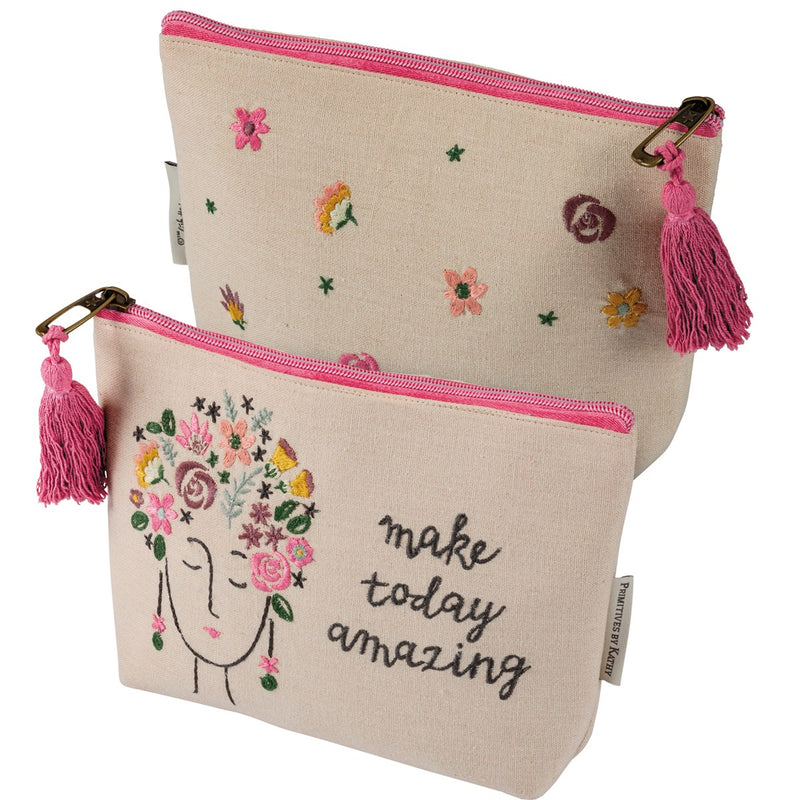 Make Today Amazing - Zipper Pouch