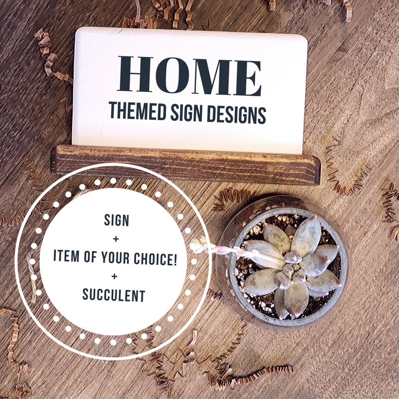 Home - Succulent Gift Box