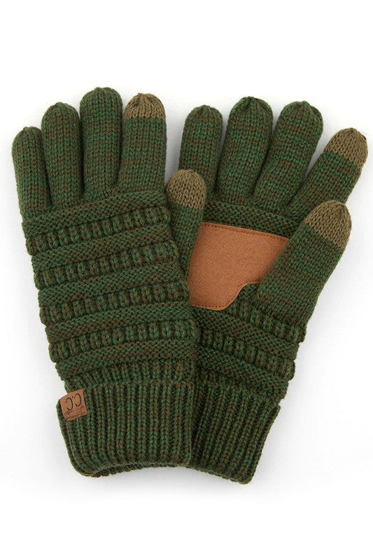CC Knit Lined Gloves - SmartTouch