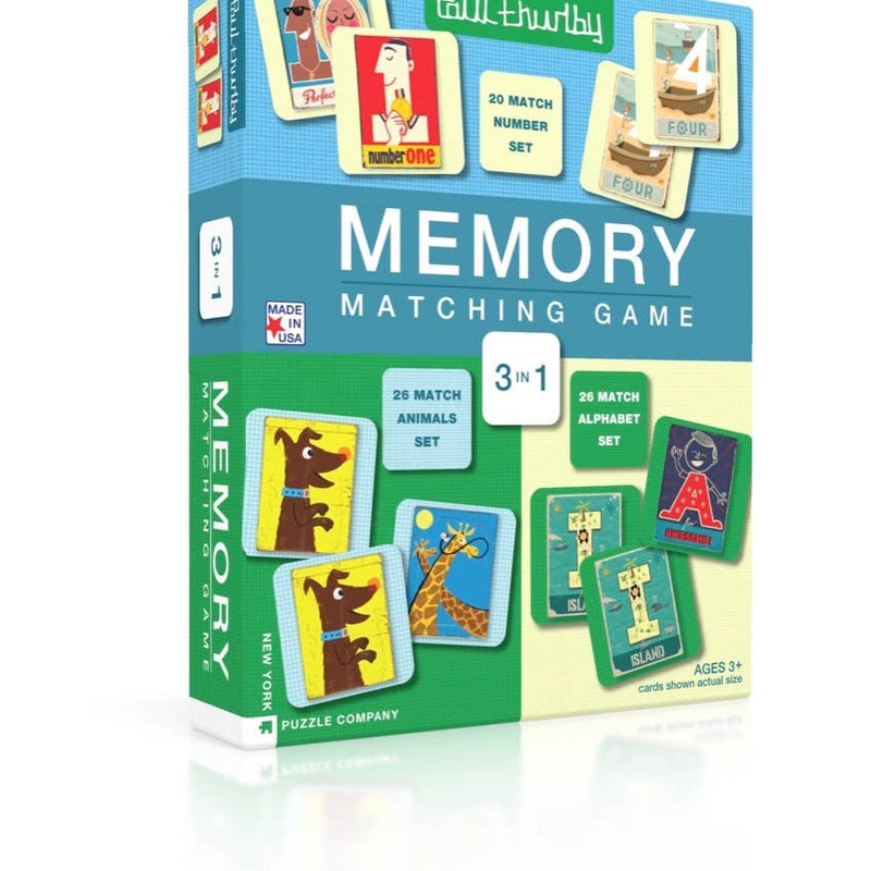 3 in 1 Memory Puzzle