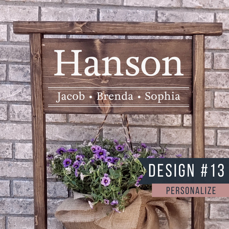 Hanging Flower Planter Stand