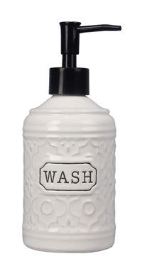WASH - Ceramic Soap Dispenser