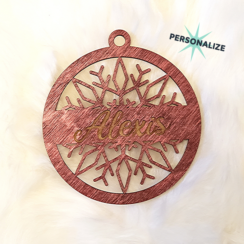 Personalized Alexis Design Ornament
