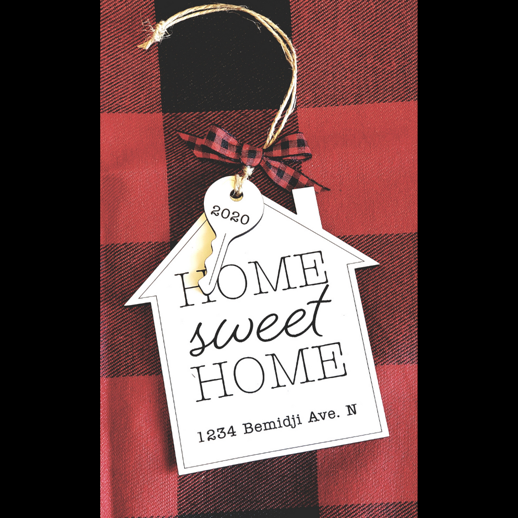 Home Sweet Home - Personalized Ornament
