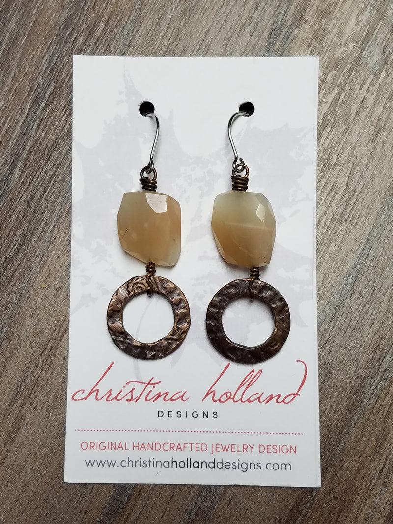 Peach Aventine - Copper Creations