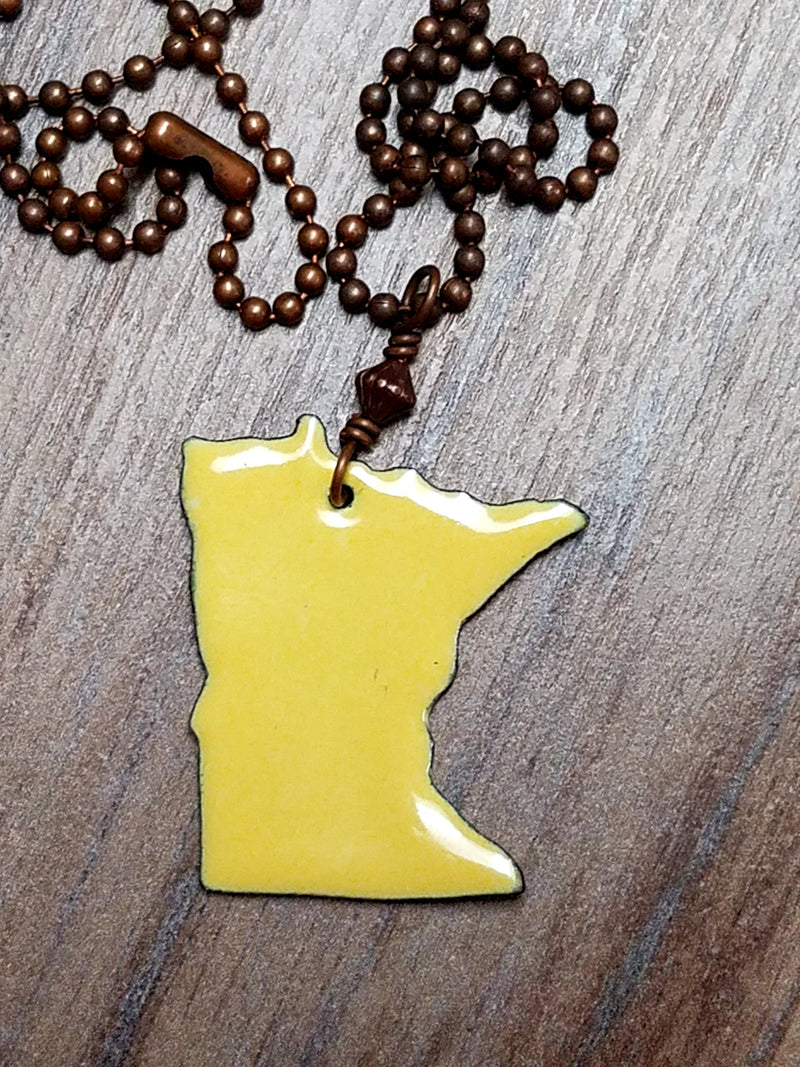 Minnesota Pride Necklaces - Multiple Colors