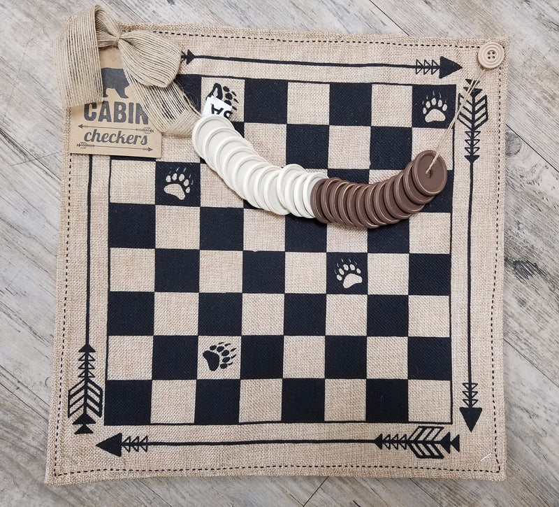 Cabin Checkers Set