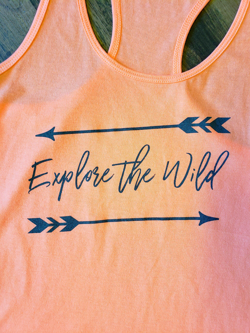 Explore the Wild Ladies Tank