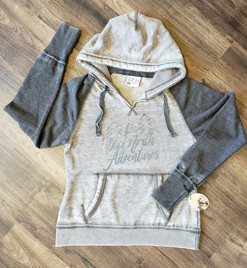 Up North Adventures Ladies Hoodie