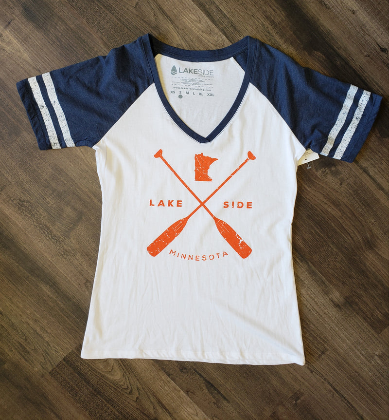 Crossed Oars Tee