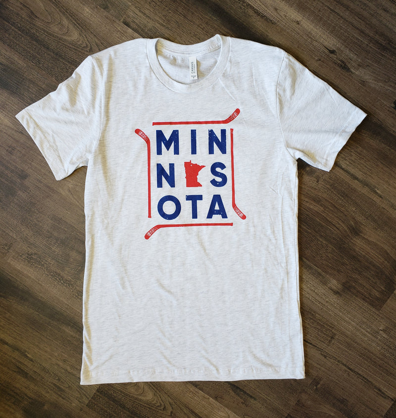 MN Hockey Stick Tee