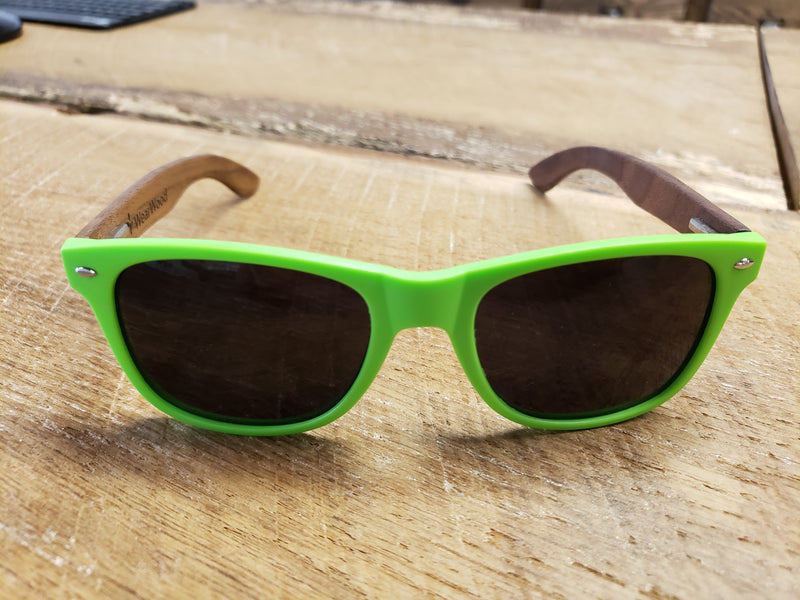 MN Green Walnut Sunglasses