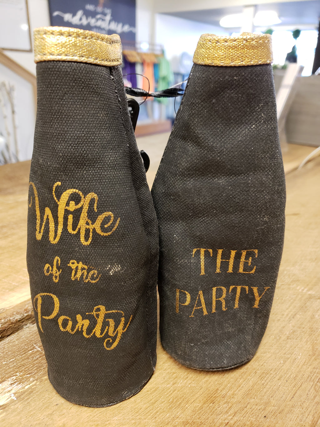 Wife/Party Pair - Bottle Koozie