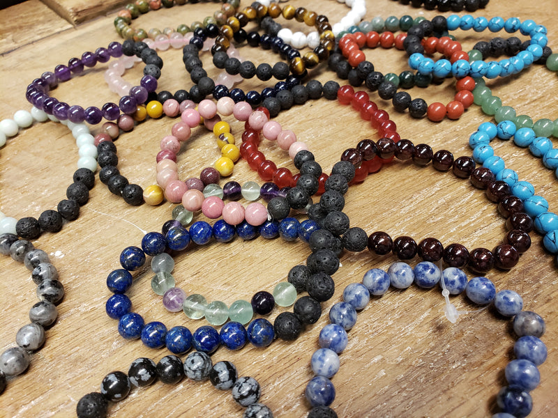 Lava Bead Bracelets - Assorted
