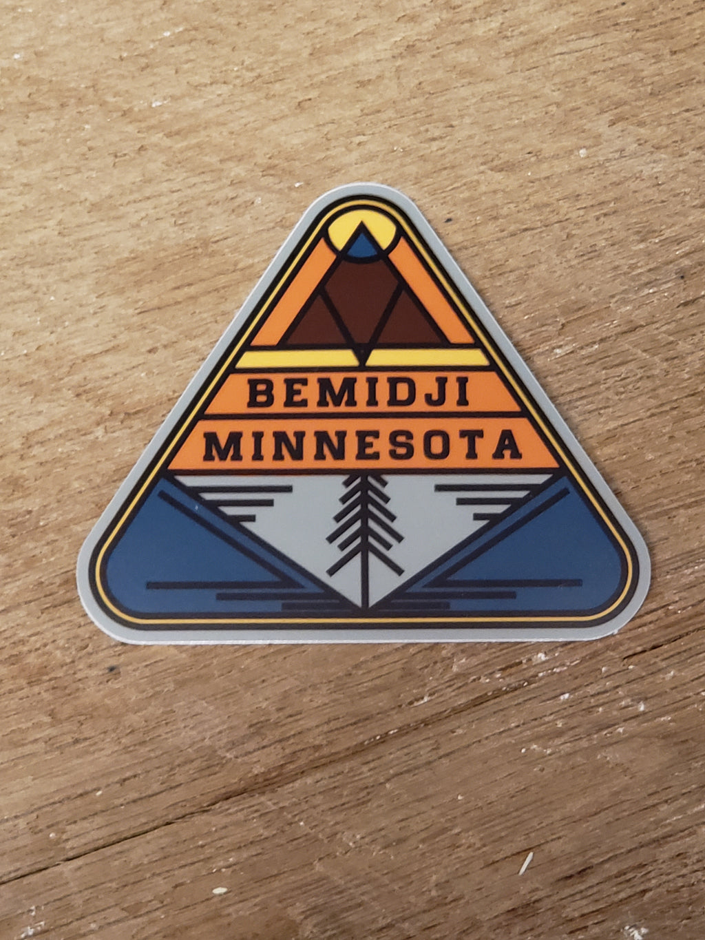 Bemidji, MN Triangle - Decal
