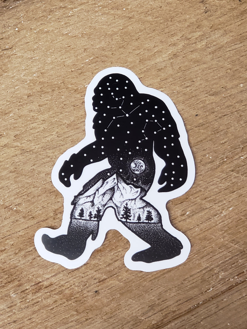 Sasquatch Constellation - Decal