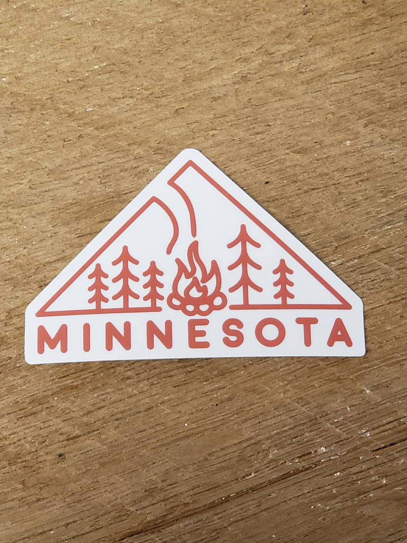 Minnesota Fire - Decal