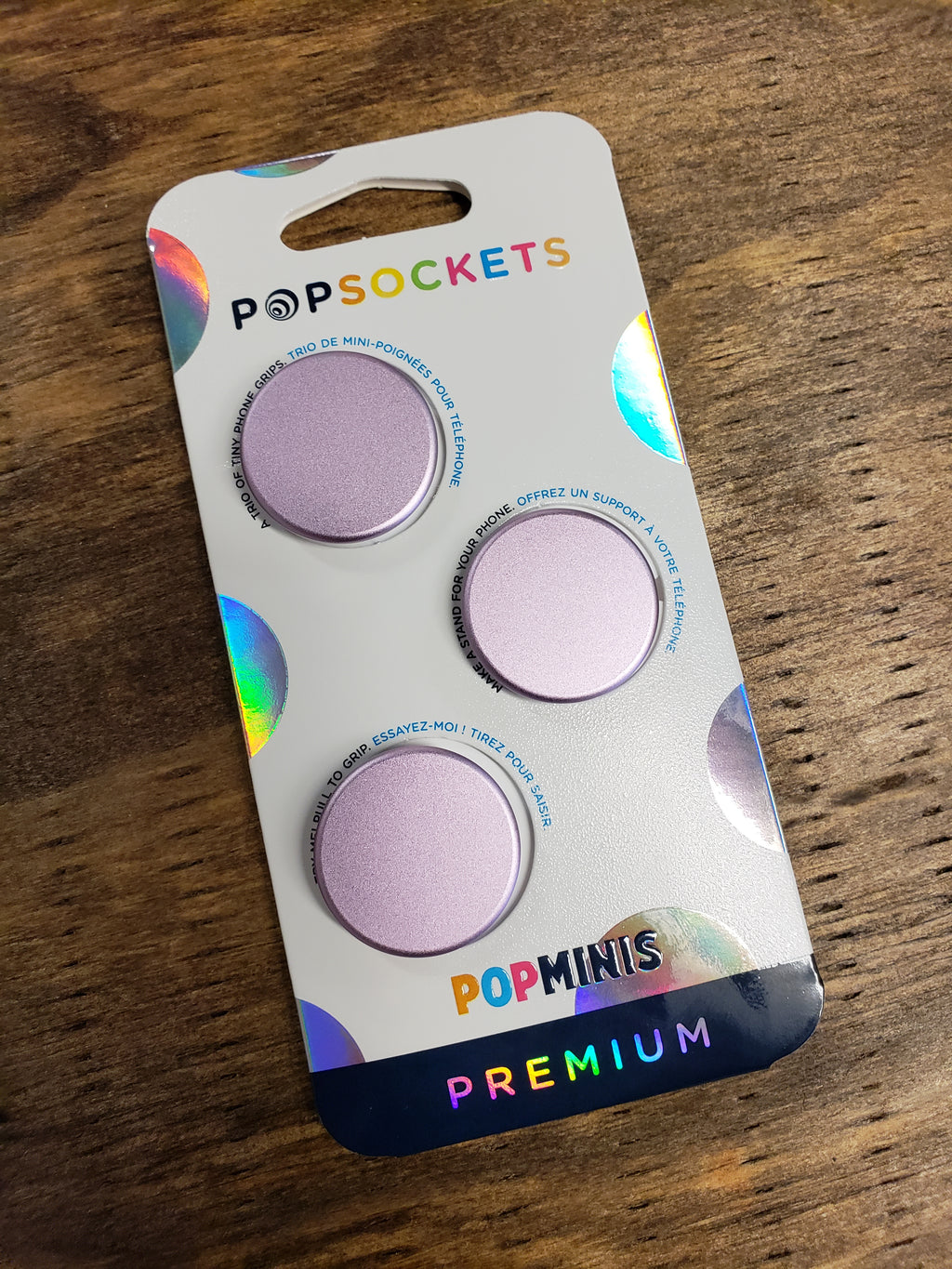 Aluminum Lilac Mini PopSocket