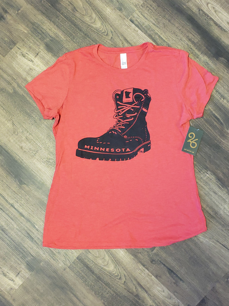 Minnesota Hiking Boot Ladies Tee