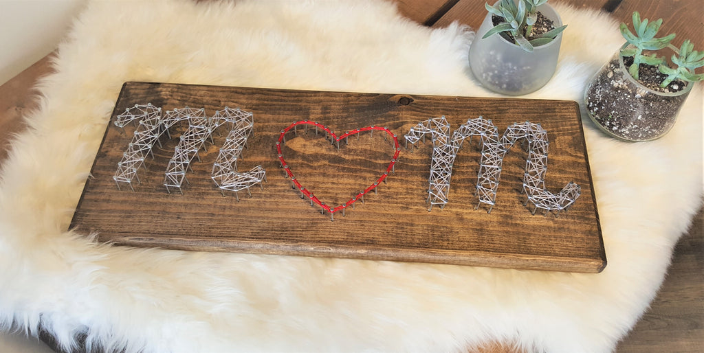 Mom String Art Craft Kit