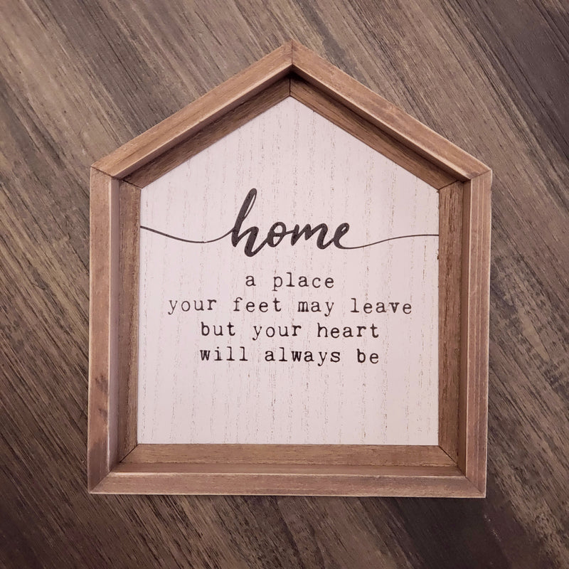 Home - House Sign