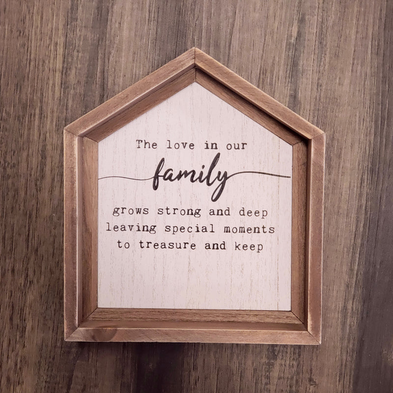 Family - House Sign