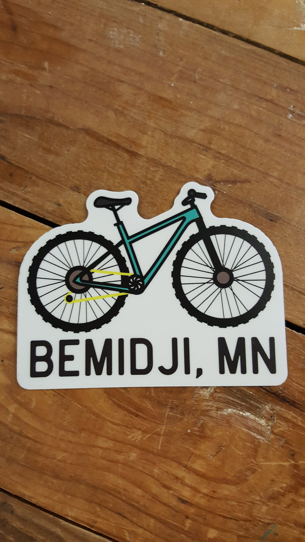Bike Bemidji - Decal