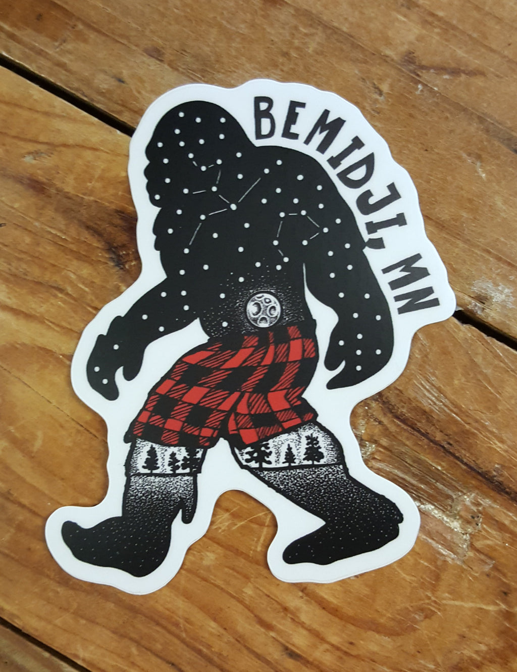 Bemidji Sasquatch - Decal