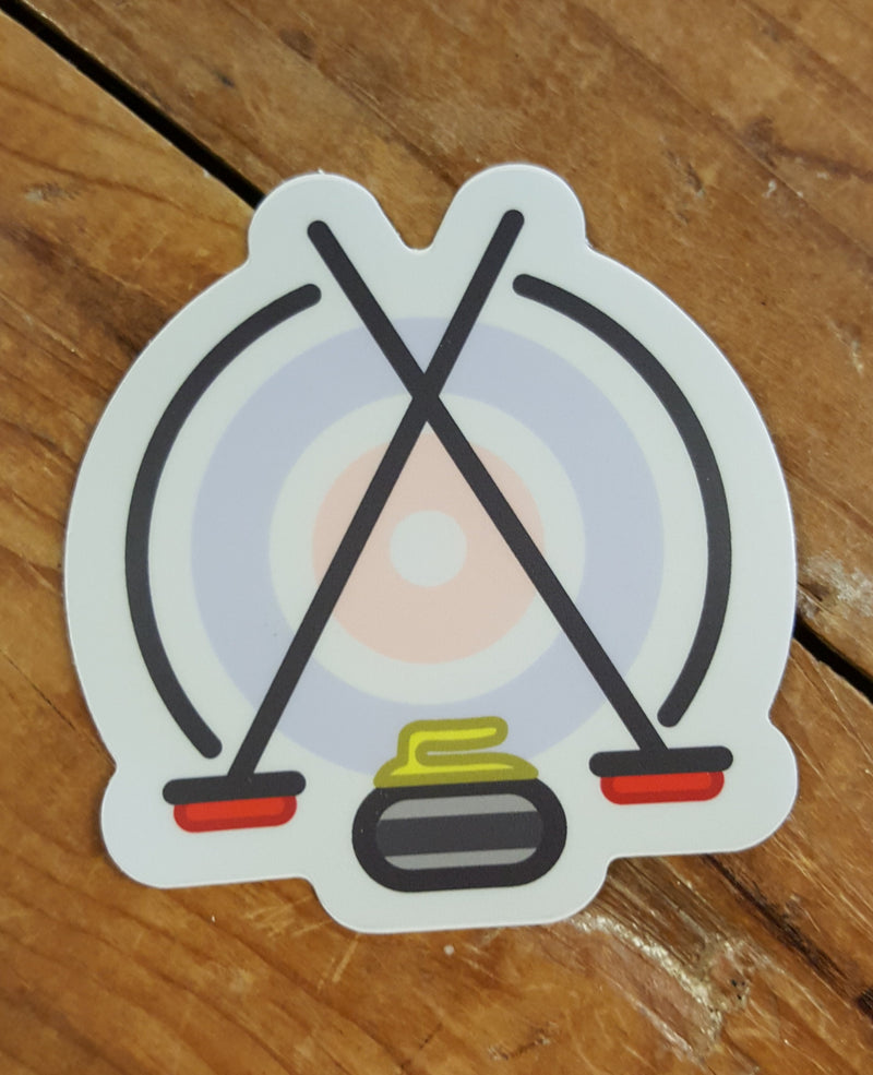 Curling - Decal