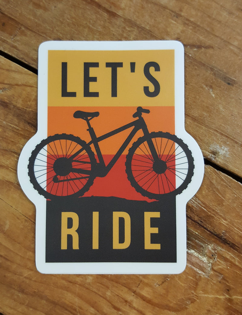 Let's Ride - Decal