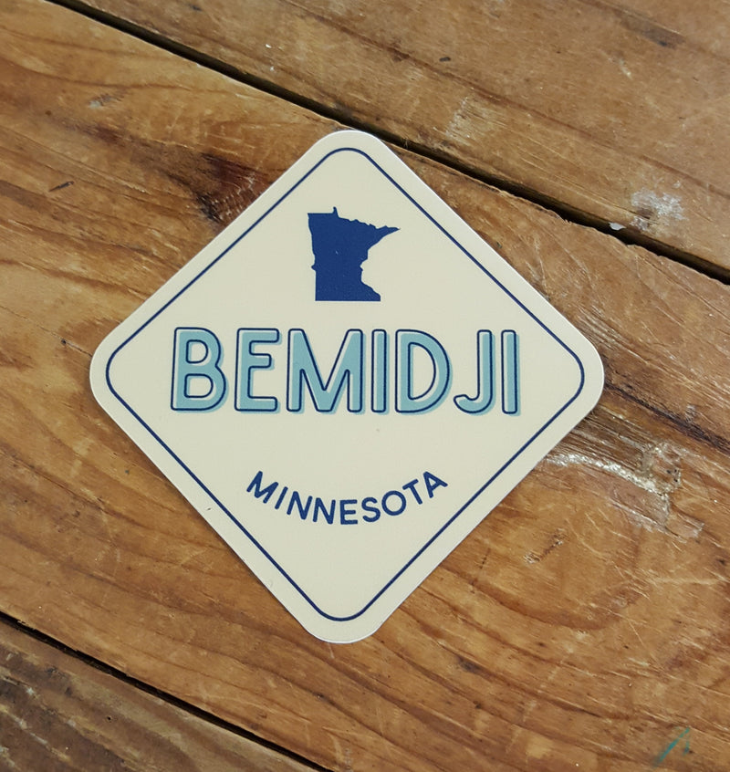 Bemidji Sign - Decal