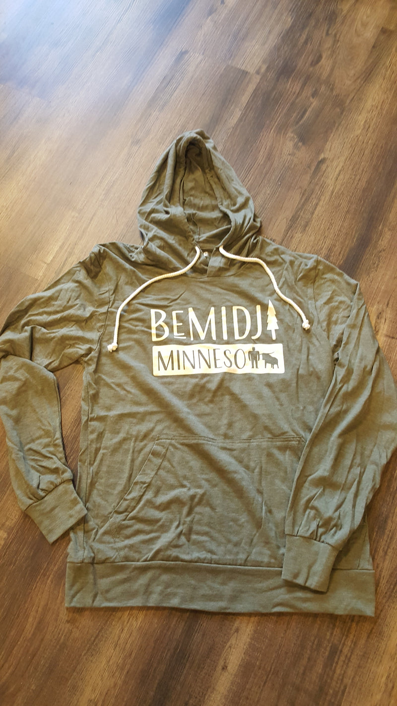 Bemidji Hooded Long Sleeve Tee - Woodland