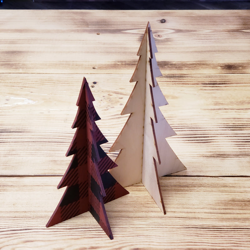 3D Christmas Trees Crafting Kit