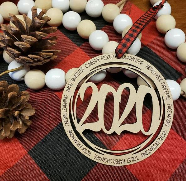 2020 Wooden Ornament