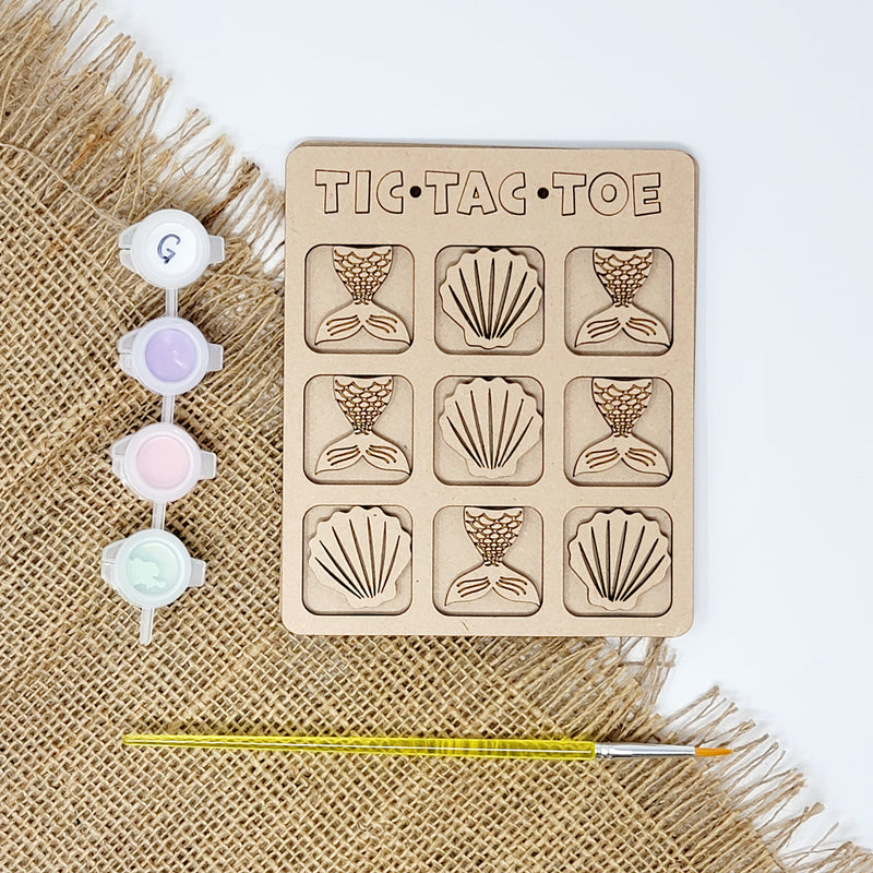 Mermaid Tic Tac Toe Craft Kit