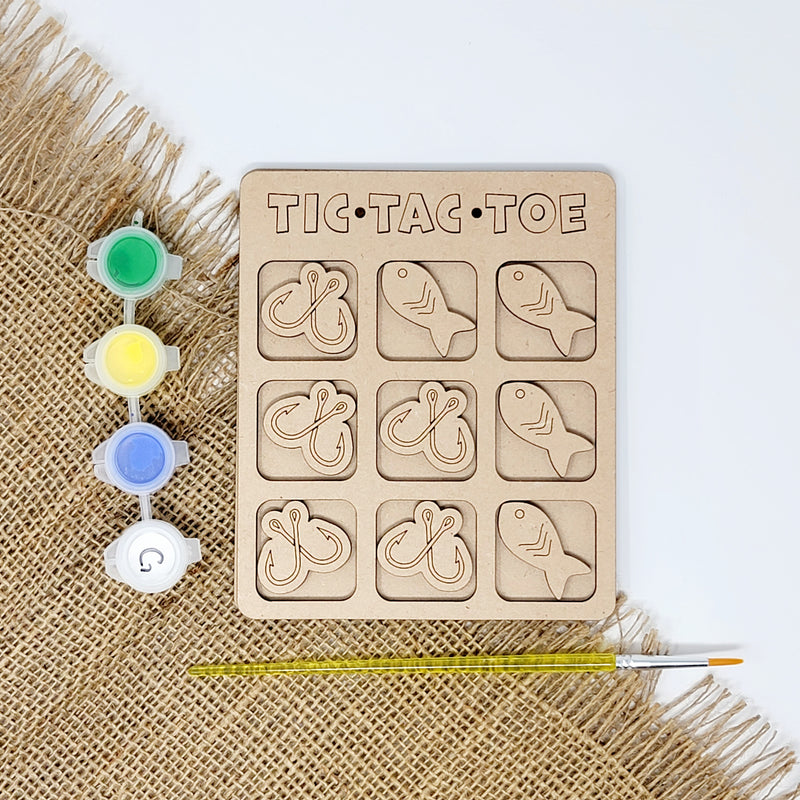 Fishing Tic Tac Toe Craft Kit