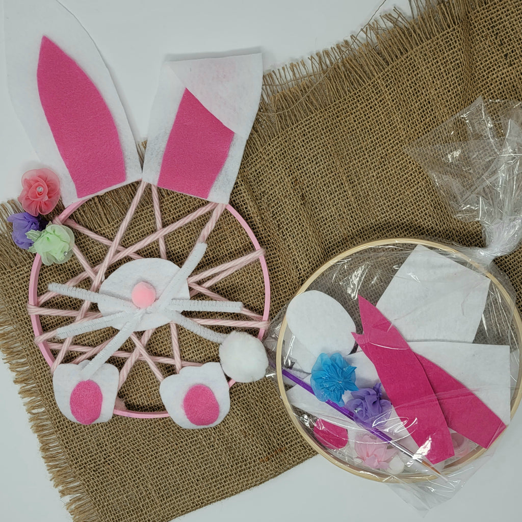 Easter Bunny Dream Catcher Craft Kit