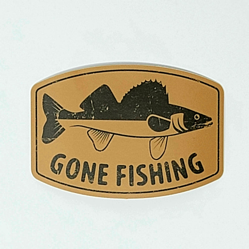 Gone Fishing - Decal