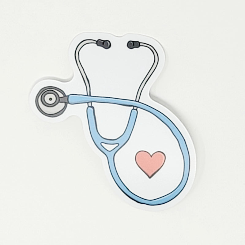 Nurse Heart - Decal