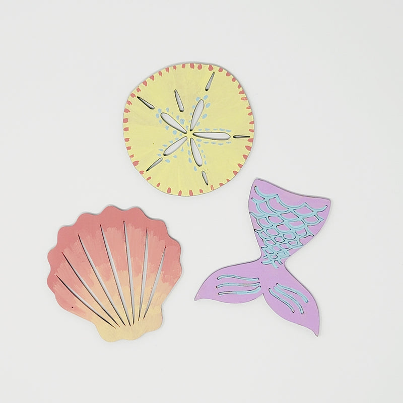 Under the Sea Wooden Cutout Painting Kits
